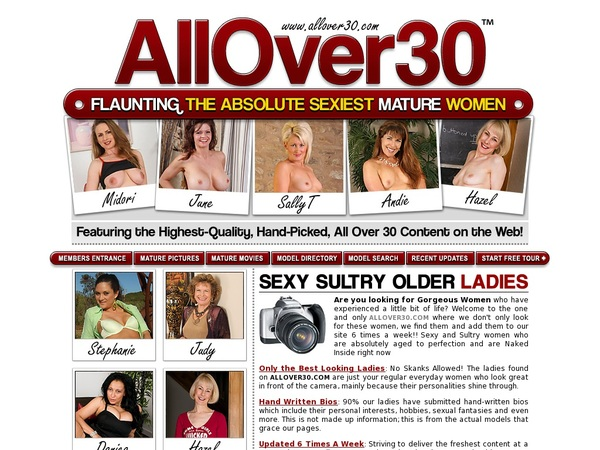 Allover30.com With Paypal Acc