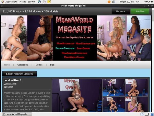 Meanworld Working Account