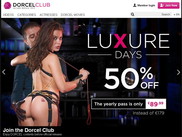 Free Dorcel Club Acounts