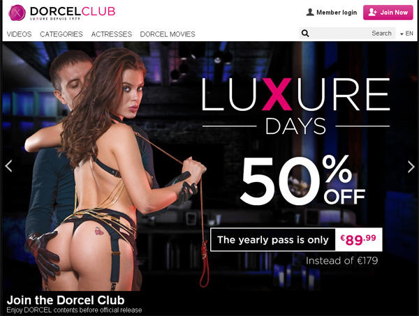 Dorcel Club With No Credit Card
