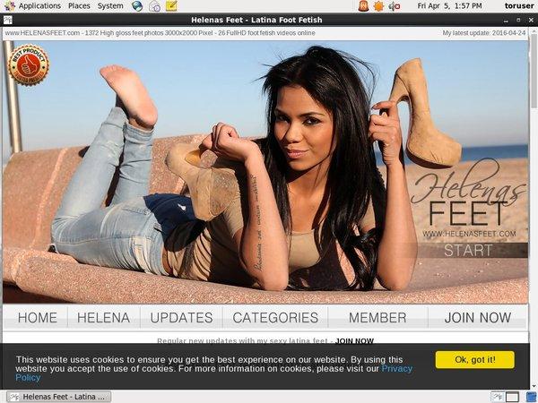 Helenas Feet Logins For Free